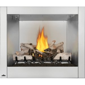 Napoleon FireplacesRiverside 36 Clean Face , Stainless Steel , Natural Gas