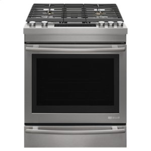 "Jenn-AirEuro-Style 30"" Slide-In Gas Range"