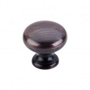 Mushroom Knob 1 1/4 Inch - Tuscan Bronze