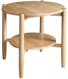 Matia Round End Table