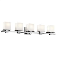 Tully Collection Tully 5 Light Bath Light in Chrome