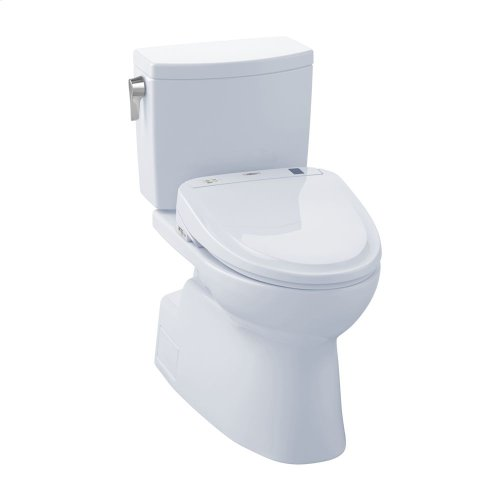 Vespin® II 1G WASHLET®+ S350e Two-Piece Toilet - 1.0 GPF - Cotton