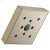 Additional H 2 Okinetic® Square Showerhead
