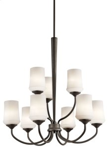 Aubrey 9 Light Chandelier Olde Bronze®