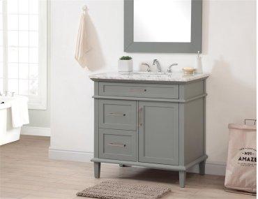 3 Drw 1 Dr Vanity Sink