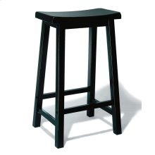 """""""Antique Black"""" with Sand Through Terra Cotta Bar Stool, 29"""" Seat Height"""