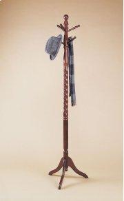 """Heirloom Cherry"" Twist Coat Rack Product Image"