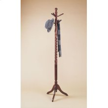 """Heirloom Cherry"" Twist Coat Rack"
