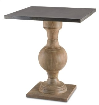 Pinkney Accent Table - 28h x 24d x 24w