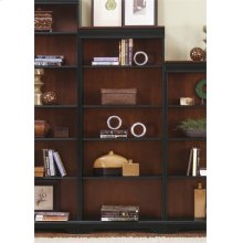 260-HO3072-R  Jr Executive 72 Inch Bookcase (RTA)