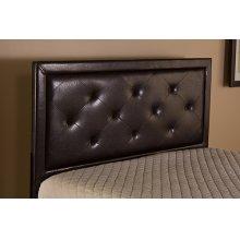 Becker King Headboard - Brown Faux Leather