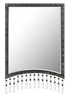 ARGENTA RECTANGULAR METAL MIRROR WITH BEVELED GLASS Product Image