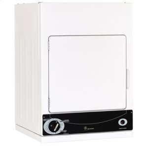 GE Spacemaker® 120V Stationary Electric Dryer - WHITE