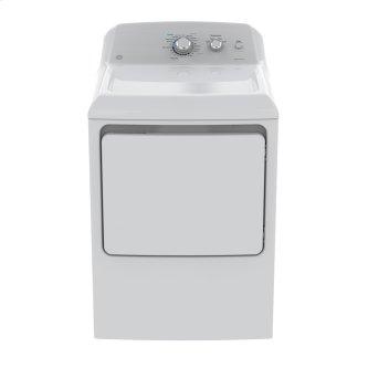 GE 7.2 Cu.Ft.Top Load Gas Dryer White GTD40GBMKWW