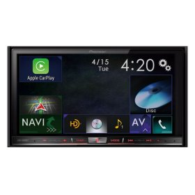 "In-Dash Navigation AV Receiver with 7"" WVGA Capacitive Touchscreen Display"