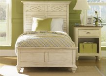 Twin Panel Bed Set