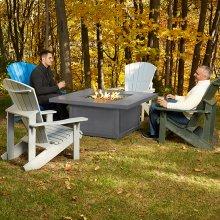 Hamptons Square Patioflame® Table