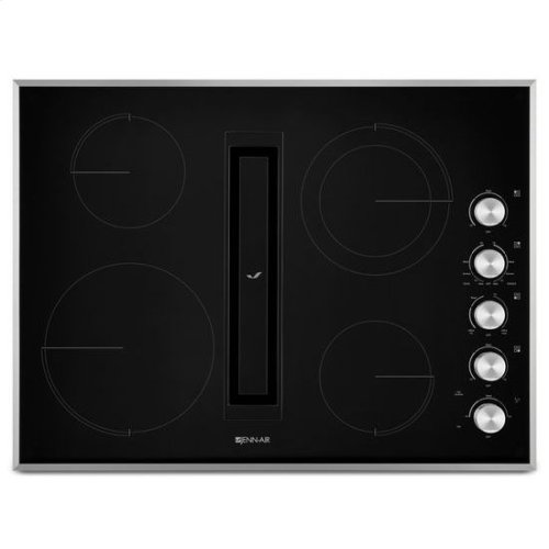 "JennAir® Euro-Style 30"" JX3 Electric Downdraft Cooktop - Stainless Steel"