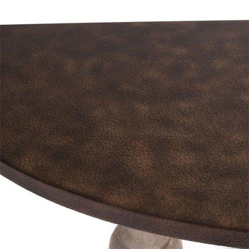 Half Moon Sofa Table