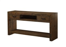 Emerald Home Pine Valley Sofa Table-burnished Pine Finish T744-02