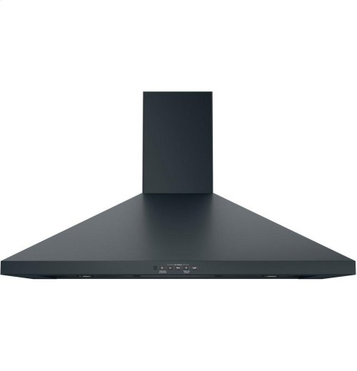 "GE® 36"" Wall-Mount Pyramid Chimney Hood"
