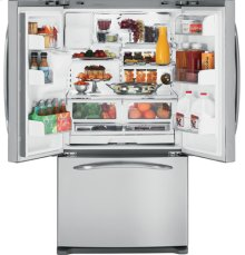 GE Profile ENERGY STAR® 25.8 Cu. Ft. French Door Bottom-Freezer Refrigerator