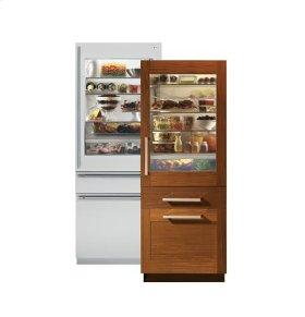 """30"""" Integrated Glass Door Refrigerator"""