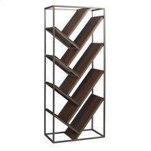 Chevron Bookcase