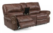 Carlton Fabric Power Reclining Loveseat with Console Product Image