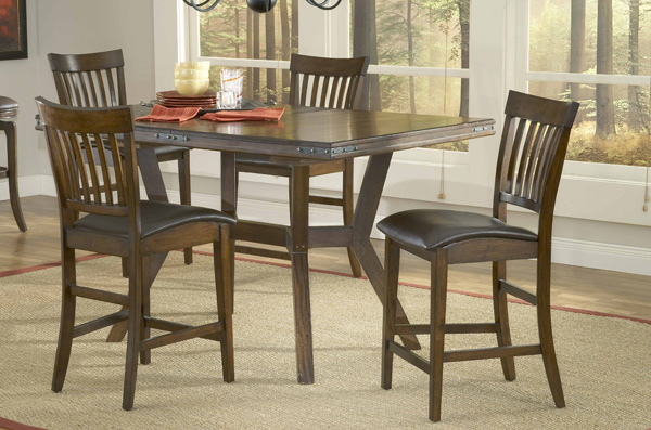 4232GTBS in by Hillsdale Furniture Hopkinsville, KY - Arbor Hill 5pc Counter Height Dining Set