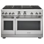 """MonogramMonogram 48"""" Dual-Fuel Professional Range with 6 Burners and Grill (Natural Gas)"""