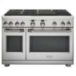 "GE MonogramMONOGRAMMonogram 48"" Dual-Fuel Professional Range with 6 Burners and Grill (Natural Gas)"