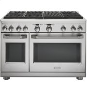 "Monogram 48"" Dual-Fuel Professional Range with 6 Burners and Grill (Natural Gas) Product Image"