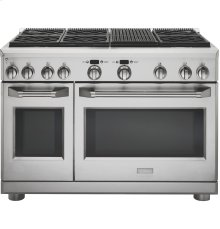"GE Monogram® 48"" Dual-Fuel Professional Range with 6 Burners and Grill (Natural Gas)"