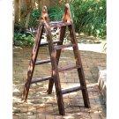 Wood Ladder w/Iron Hinge Product Image