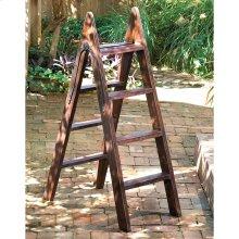Wood Ladder w/Iron Hinge