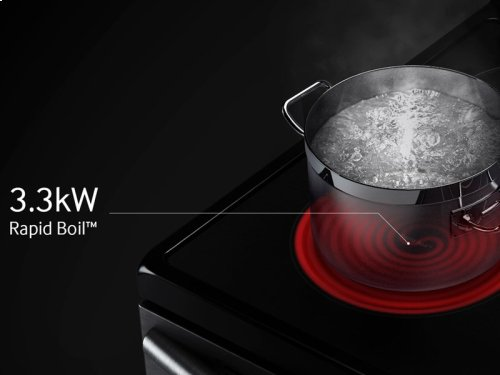 5.9 cu. ft. Electric Range with True Convection