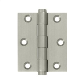 "3""x 2 1/2"" Screen Door Hinge - Brushed Nickel"
