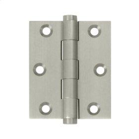 """3""""x 2 1/2"""" Screen Door Hinge - Brushed Nickel"""