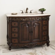 Provincial Medium Sink Chest - Dark