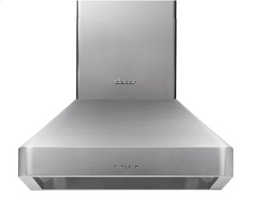 "Discovery 48"" Chimney Hood, wall-mounted in Stainless Steel"