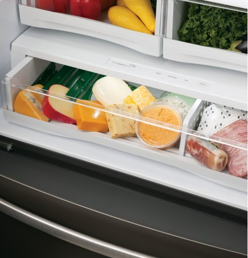 ENERGY STAR 27.7 Cu. Ft. French-Door Ice & Water Refrigerator w/Keurig® K-Cup® Brewing System