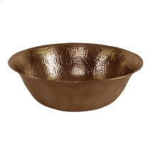 Goshen Above Counter Basin - Hammered Antique Copper
