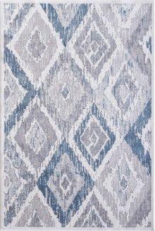 Mosaic Cream/grey/blue 1669 Rug