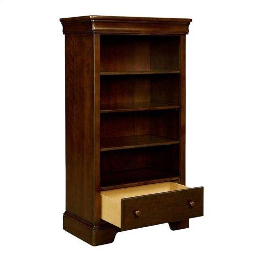 Teaberry Lane Midnight Cherry Bookcase