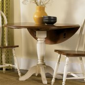 Drop Leaf Pedestal Table Base