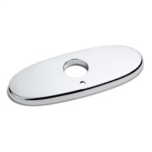 Deck Plates for NextGen Selectronic Commercial Faucets - Brushed Nickel