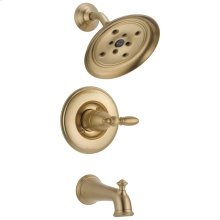 Champagne Bronze Monitor ® 14 Series H 2 Okinetic ® Tub & Shower Trim - Less Handle