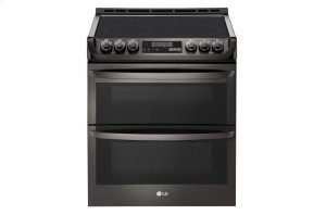 7.3 cu. ft. Smart wi-fi Enabled Electric Double Oven Slide-In Range with ProBake Convection® and EasyClean® Product Image