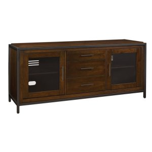 Bell'oThe Fulton TV stand offers elegant transitional style while providing tons ...
